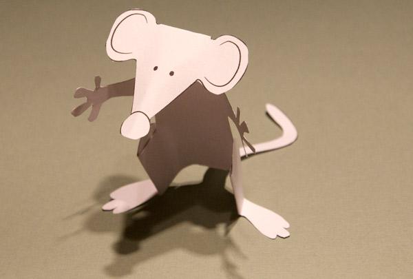 Mouse Hug Rob Ives
