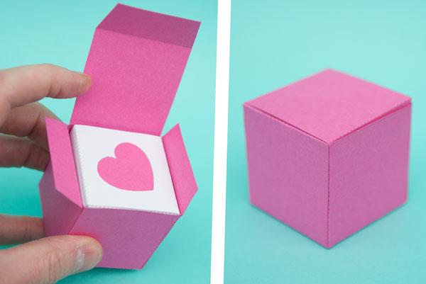 Afif Art & Craft - Origami heart box|DIY Origami Heart Box|Paper ... | 401x600
