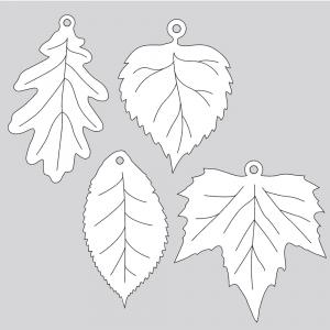 Laser-Cut Leaves