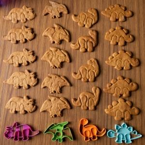 Dino Cookies x 4